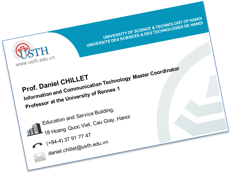 Site Web Daniel CHILLET